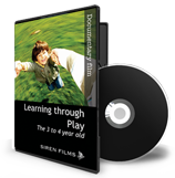 Learning Through Play (Documentary) Book/DVD (limited stock available)