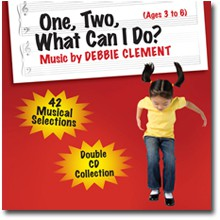 One, Two What Can I Do? Book plus 2 CDs